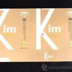 Paquetes de tabaco: PAQUETE DE TABACO. KIM DE ORO. CUBA. 16 X 9CM.. Lote 48972659