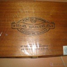 Paquetes de tabaco: CAJA DE PUROS LA FAMA CORONAS. Lote 49113916