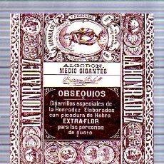 Paquetes de tabaco: PAQUETE DE TABACO. CUBA. LA HONRADEZ. ALGODON MEDIO GIGANTES. 13 X 16CM.. Lote 49190430