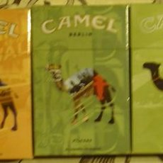 Paquetes de tabaco: 5 CAJETILLAS VACIAS CAMEL SERIE CIUDADES DE ARGENTINA EDICION LIMITADA . Lote 49588495