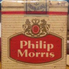 Paquetes de tabaco: ANTIGUO PAQUETE DE CIGARRILLOS PHILLIP MORRIS. Lote 49743741