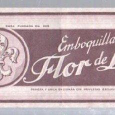 Paquetes de tabaco: PAQUETE DE TABACO. FLOR DE LIS. 29 X 9CM.. Lote 49748023