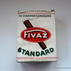 Paquetes de tabaco: CIGARROS FIVAS AÑOS SETENTA - PAQUETE PRECINTADO (LA FABRICA YA NO EXISTE). Lote 50404982