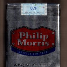 Paquetes de tabaco: CAJETILLA SOFT LLENA PHILLIP MORRIS EDICION AMIGOS DE ACERO MUY LIMITADA DE ARGENTINA. Lote 50610629