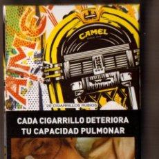 Paquetes de tabaco: CAJETILLA LLENA CAMEL EDICION LIMITADA 100 AÑOS DE ARGENTINA. Lote 50610697