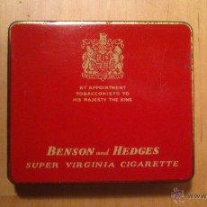 Paquetes de tabaco: CAJETILLA DE CIGARRILLOS BENSON&HEDGES. Lote 50707028
