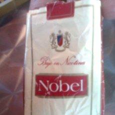 Paquetes de tabaco: ANTIGUO PAQUETE CAJETILLA DE TABACO ... NOBEL - VINTAGE 70-80´S - VACÍO. Lote 50760714