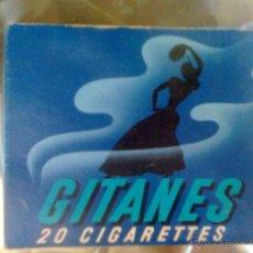 Paquetes de tabaco: ANTIGUO PAQUETE CAJETILLA DE TABACO ... GITANES - VINTAGE 70-80´S - VACÍO. Lote 50760774
