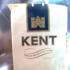 Paquetes de tabaco: PAQUETE CAJETILLA DE TABACO... KENT (BLANDO) - VINTAGE ORIGINAL 70-80´S - VACÍO. Lote 50782134