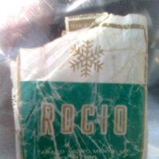 Paquetes de tabaco: PAQUETE CAJETILLA DE TABACO... ROCÍO - VINTAGE ORIGINAL 70-80´S - VACÍO. Lote 50782936