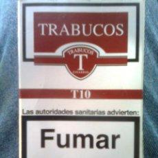Paquetes de tabaco: PAQUETE CAJETILLA DE TABACO... TRABUCOS - VACÍO. Lote 50782975