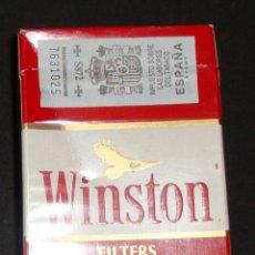 Paquetes de tabaco: PAQUETE TABACO VACIO WINSTON. Lote 257465860
