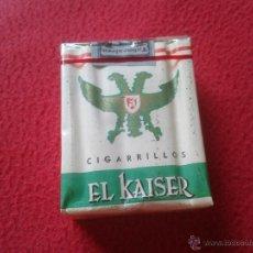Paquetes de tabaco: ANTIGUO PAQUETE DE 20 CIGARRILLOS TABACO BLANDO TENGO MAS PAQUETES VER LOTES EL KAISER TENERIFE IDEA. Lote 75044698