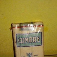 Paquetes de tabaco: TABACO CUMBRE. Lote 52368249