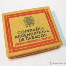 Paquetes de tabaco: PAQUETE DE TABACO DE 0,70 PTS. DE LA COMPAÑIA ARRENDATARIA DE TABACOS. 20 CIGARRILLOS. Lote 52567432