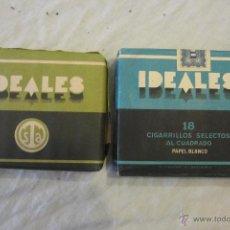 Paquetes de tabaco: LOTE DE CIGARRILLOS ANTIGUOS. Lote 52657393