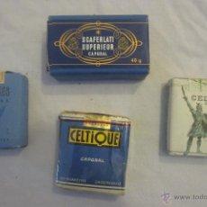 Paquetes de tabaco: LOTE DE 4 PAQUETES DE CIGARRILLOS ANTIGUOS. Lote 52657542