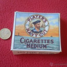 Paquetes de tabaco: PAQUETE DE TABACO VACIO CAJETILLA DURA TENGO MAS PAQUETES VER MIS LOTES NAVY CUT TOBACCO JOHN PLAYER. Lote 52863100