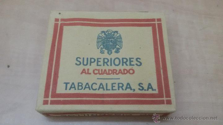 PAQUETE DE TABACO SUPERIORES AL CUADRADO - TABACALERA S.A - PAQUETE SIN ABRIR (Coleccionismo - Objetos para Fumar - Paquetes de tabaco)