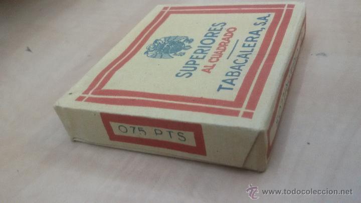 Paquetes de tabaco: PAQUETE DE TABACO SUPERIORES AL CUADRADO - TABACALERA S.A - PAQUETE SIN ABRIR - Foto 4 - 52963549