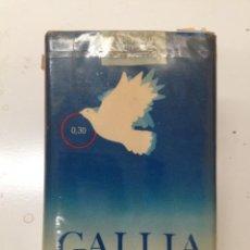 Paquets de cigarettes: ANTIGUO PAQUETE DE TABACO GALLIA. Lote 53228608