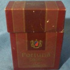 Paquetes de tabaco: FORTUNA DE LUXE - PAQUETE TABACO - AÑOS 70-80 - VACÍO - RARO. Lote 53392625