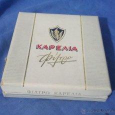 Paquetes de tabaco: KAPEAIA (GRIEGO) - PAQUETE TABACO - AÑOS 70-80 - VACÍO - RARO. Lote 53392933