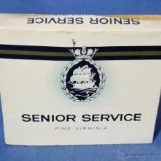 Paquetes de tabaco: SENIOR SERVICE - PAQUETE TABACO - AÑOS 70-80 - VACÍO. Lote 53442151