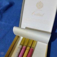 Paquetes de tabaco: SOBRAINE COCKTAIL - 4 CIGARRILLOS - PAQUETE TABACO - AÑOS 70-80 - RARO. Lote 53442183