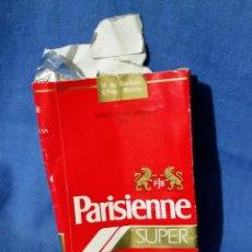 Paquetes de tabaco: PARISIENNE SUPER - 1 CIGARRILLO - PAQUETE TABACO - AÑOS 70-80. Lote 53442190