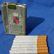 Paquetes de tabaco: MARQUISE - 10 CIGARRILLOS - PAQUETE TABACO - AÑOS 70-80 - RARO. Lote 53442206