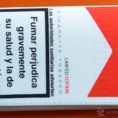 Paquetes de tabaco: MARLBORO - BOLSA DE PLÁSTICO GOMA BLANDA PARA TABACO DE LIAR. Lote 148164068