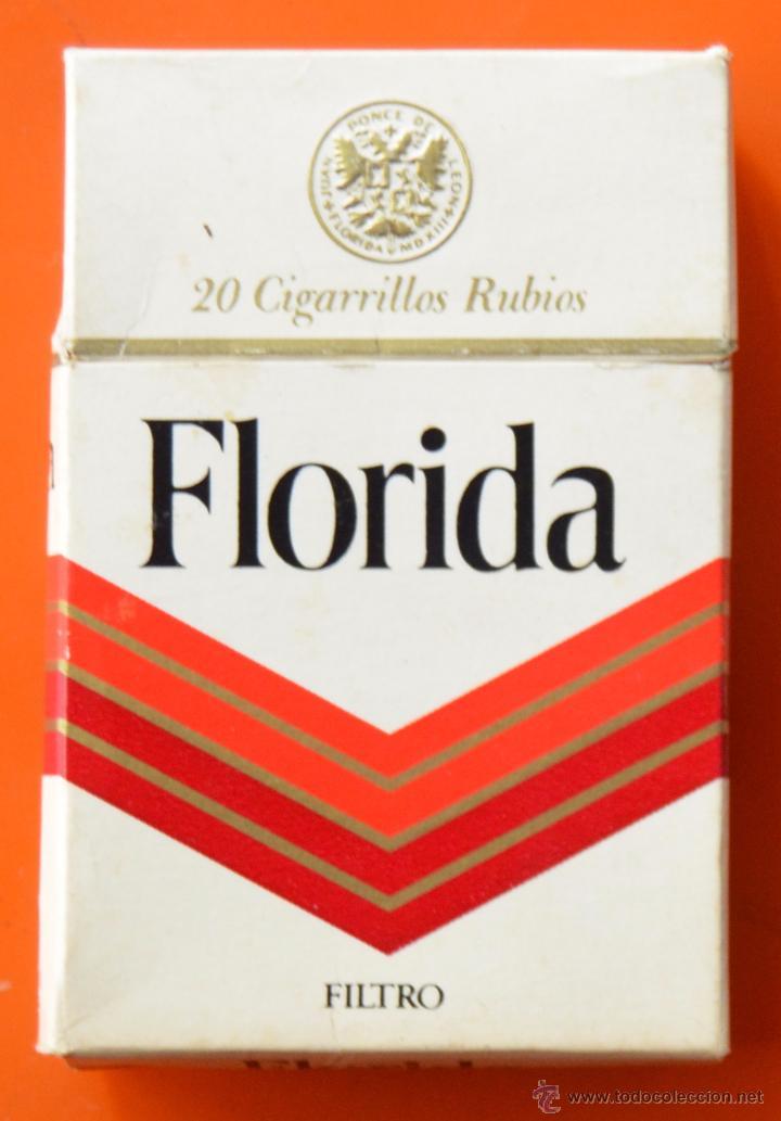 Florida - paquete de tabaco vacio de los 80 - Vendido en Venta Directa -  53693326
