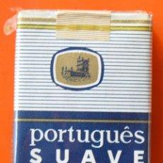 Paquetes de tabaco: PORTUGUÉS SUAVE - ANTIGUO PAQUETE DE TABACO LLENO SIN ABRIR. Lote 89649784