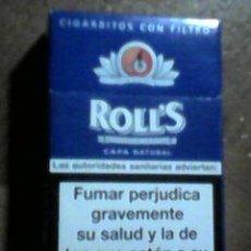 Paquetes de tabaco: CAJETILLA ROLLS - PAQUETE DE TABACO. Lote 54017497