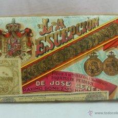 Paquetes de tabaco: PICADURA. LA ESCEPCIÓN. JOSÉ GENER. LA HABANA. CUBA.. Lote 54389825