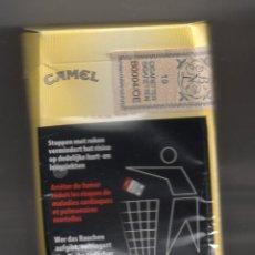 Paquetes de tabaco: PAQUETE DE TABACO CAMEL BELGA ESTA VACIO . Lote 54491776