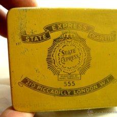 Paquetes de tabaco: STATE EXPRESS 555 - CAJA ANTIGUA DE TABACO. Lote 54955078