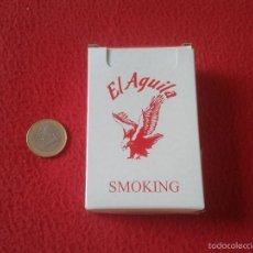 Paquetes de tabaco: PAQUETE DE CIGARRILLOS TABACO VACIO CAJETILLA DURA TENGO MAS PAQUETES VER LOTES SMOKING EL AGUILA PA. Lote 64782209