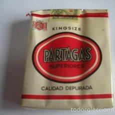 Paquetes de tabaco: ANTIGUO PAQUETE DE TABACO PARTAGAS SUPERIORES - SIN ABRIR- NUEVOS EN SU CAJA -. Lote 55348551