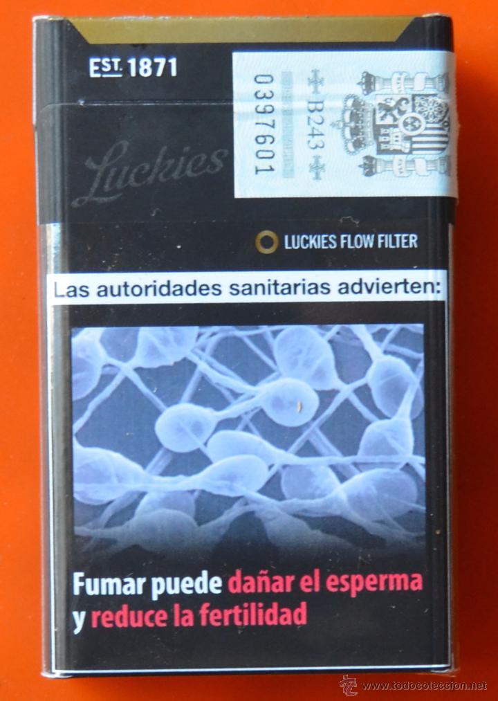 Lucky strike - flow filter - negro - paquete - Sold through