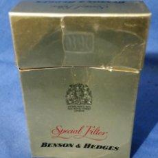Paquetes de tabaco: BENSON & HEDGES - PAQUETE DE TABACO - AÑOS 70-80 - VACÍO. Lote 55719291