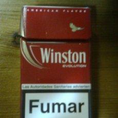 Paquetes de tabaco: PAQUETE CAJETILLA DE TABACO WINSTON EVOLUTION. Lote 56012050
