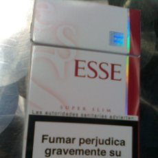 Paquetes de tabaco: PAQUETE CAJETILLA DE TABACO ESSE - ESCASO. Lote 56175262