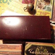 Paquetes de tabaco: IDEALES - TABACALERA - PAPEL DE FUMAR - CAJA BAMBÚ, ETC. LOTE DE COLECCIÓN TAL FOTOS - AÑOS 40-50. Lote 56310491
