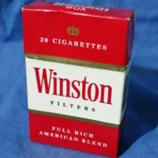 Paquetes de tabaco: WINSTON - PAQUETE DE TABACO - AÑOS 70-80 - VACÍO. Lote 56577936