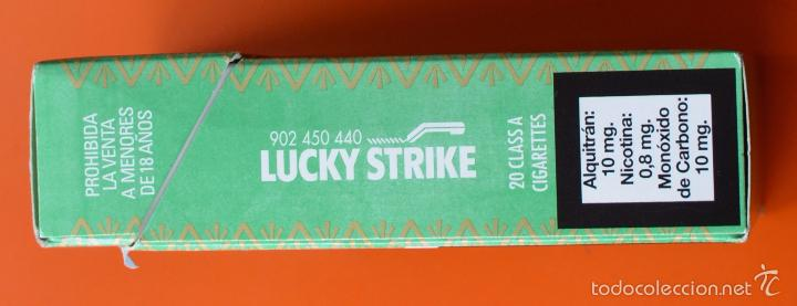 Lucky strike - edicion especial verde - adverte - Sold at Auction