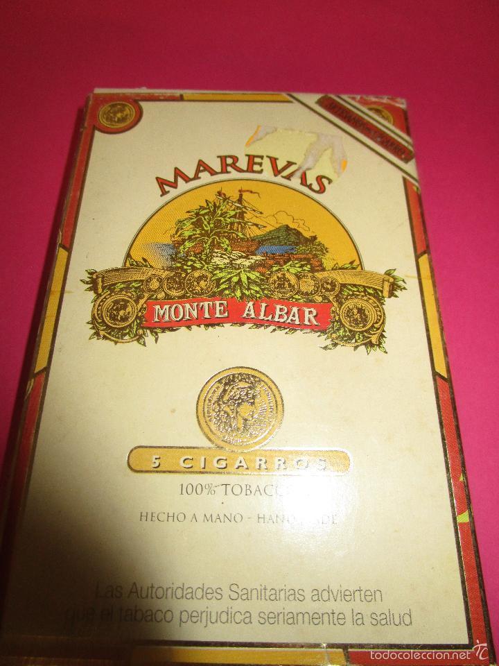 PETACA MAREVAS -MONTE ALVAR-(SIN ABRIR) (Coleccionismo - Objetos para Fumar - Paquetes de tabaco)