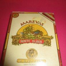 Paquetes de tabaco: PETACA MAREVAS -MONTE ALVAR-(SIN ABRIR) . Lote 56673916