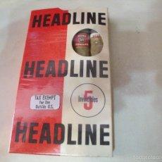 Paquetes de tabaco: CAJA HEADLINE INVINCIBLES CON 1 HEADLINE, 1 KING EDWARD Y 1 PETIT CETROS. Lote 57236130